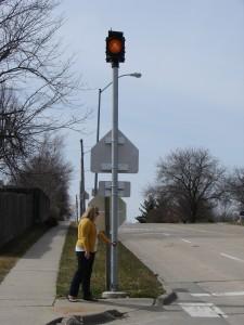 Aurora Pedestrian Cross Signals
