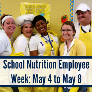 school nutrition employees week 2013 | just b.CAUSE