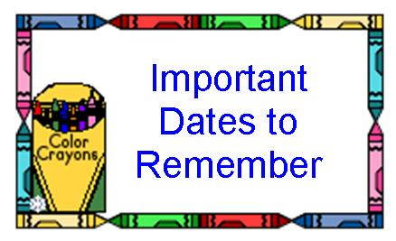 Dates To Remember Urbandale Schools
